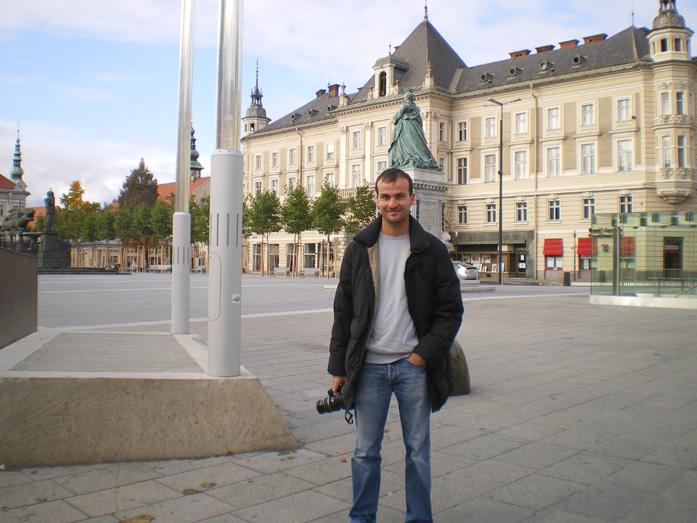 Daniele Carrer in Klagenfurt