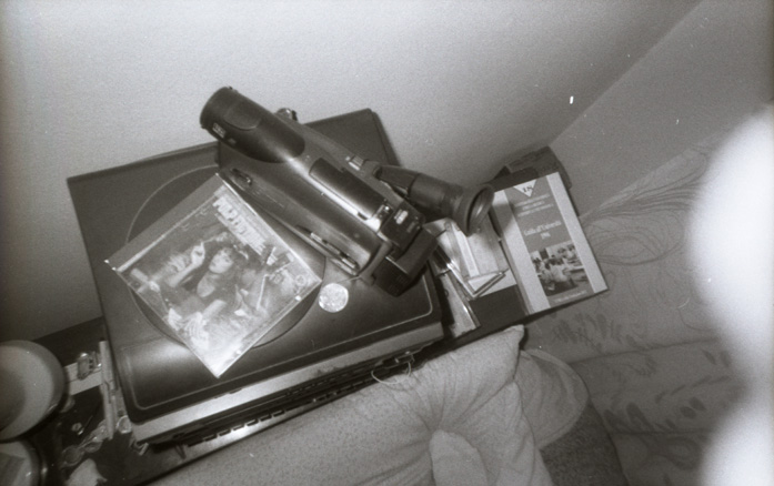 A Philips Vhs-c camera
