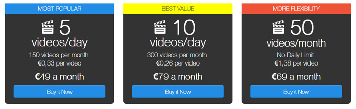 Bigstockphoto subscription plans for stock footage