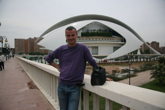 Daniele Carrer in Valencia in 2008