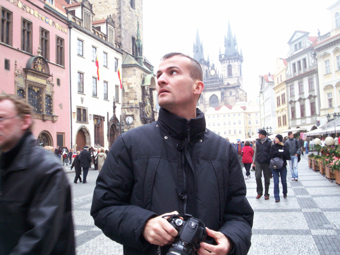 Daniele Carrer in Prague