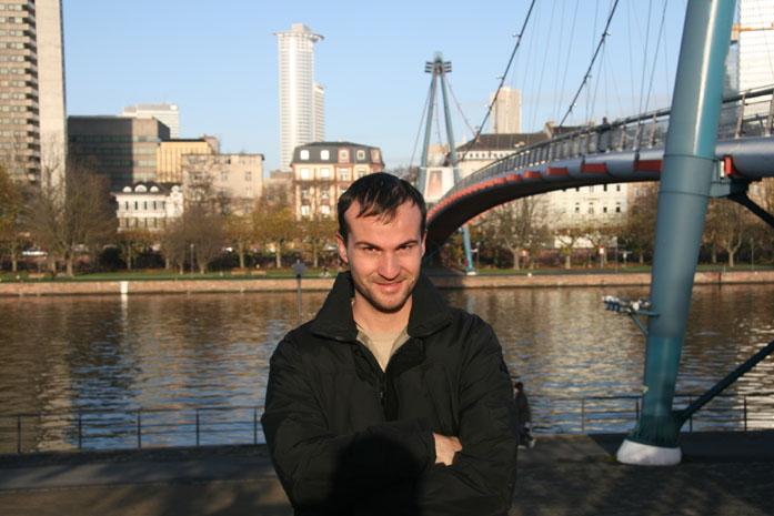 Daniele Carrer in Frankfurt in 2008