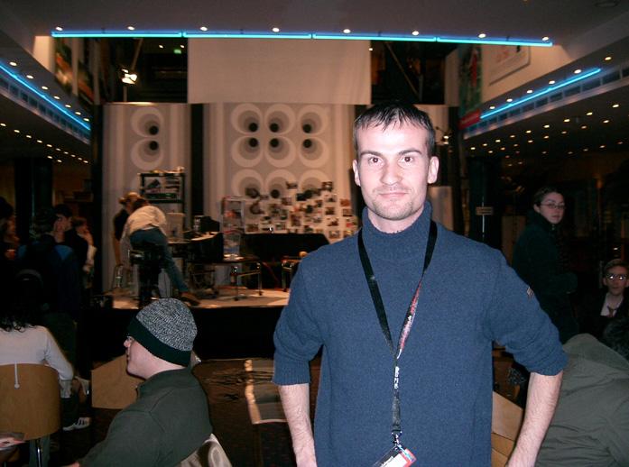 Daniele Carrer at Hannover Film Festival 2005