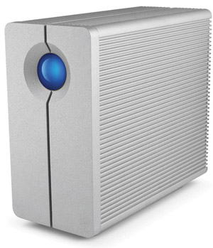 La Cie Quadra external hard drive
