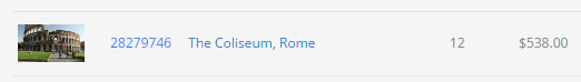 Royalties for stock of the Coliseum in Rome on pond5.com