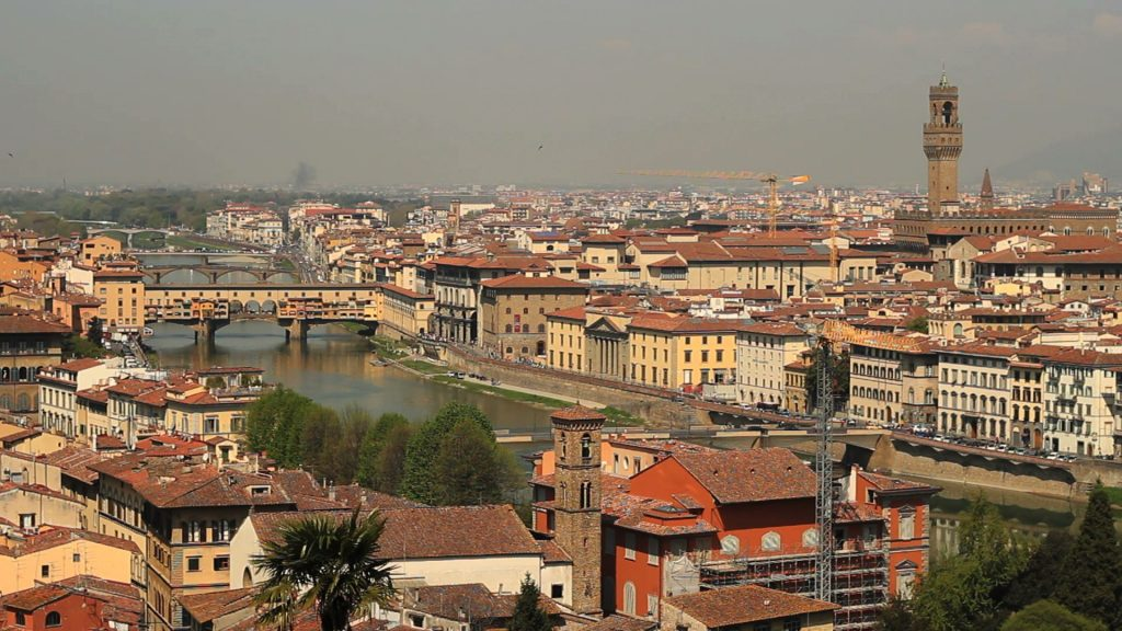Florence cityscape from Piazzale Michelangelo