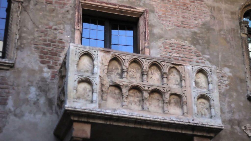 Romeo and Juliet balcony in Verona
