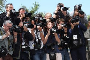 Photographers attend the 'Ne Quelque Part' Photocall during The 66th Annual Cannes Film Festival at the Palais des Festivals on May 21, 2013 in Cannes, France.