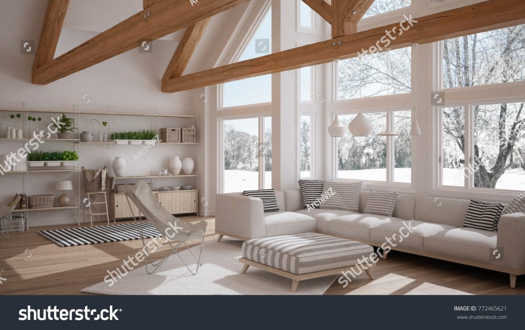 Stock image of a living room published on Shutterstock
