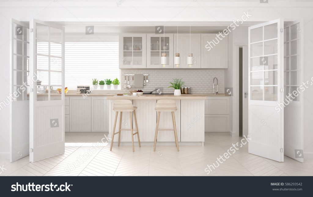 Stock image of a kitchen published on Shutterstock